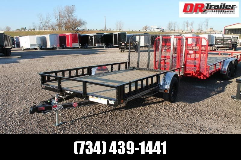 2021 PJ Trailers 12' RG ATV Equipment Trailer