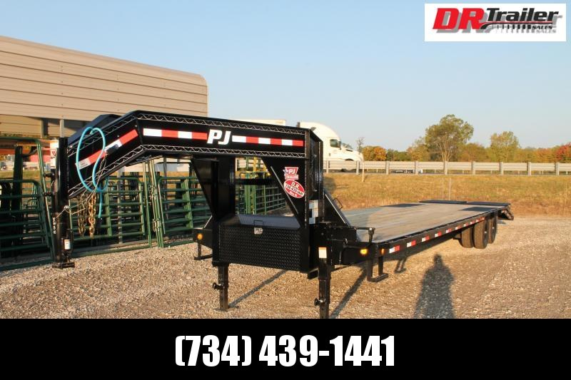 2021 PJ Trailers 35' MR 25K Flatbed Trailer