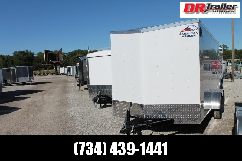 2021 American Hauler 7' X 14' DD Enclosed Cargo Trailer