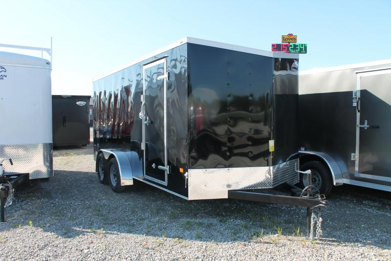 2021 American Hauler 7' X 16' TA RD Enclosed Cargo Trailer