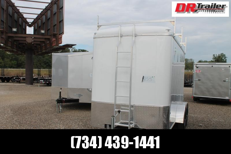 2022 Haul-About 6' X 12' DD TA RENCLOSED TRAILER Enclosed Cargo Trailer
