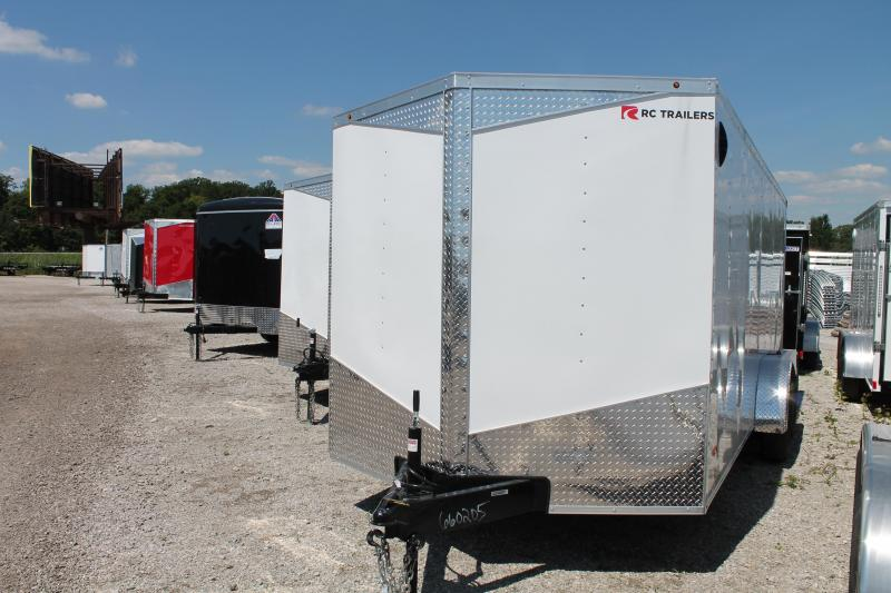 2021 RC Trailers 7' X 18' RD Enclosed Cargo Trailer