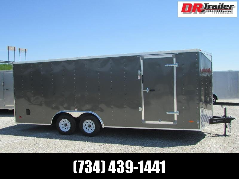 RC Trailers 20' Carhauler Cargo / Enclosed Trailer