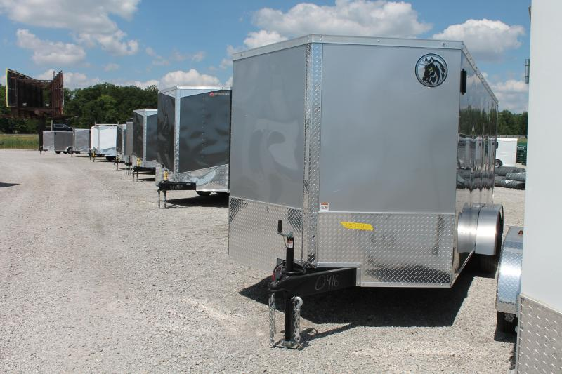 2020 Darkhorse Cargo 7' X 16' RD Enclosed Cargo Trailer
