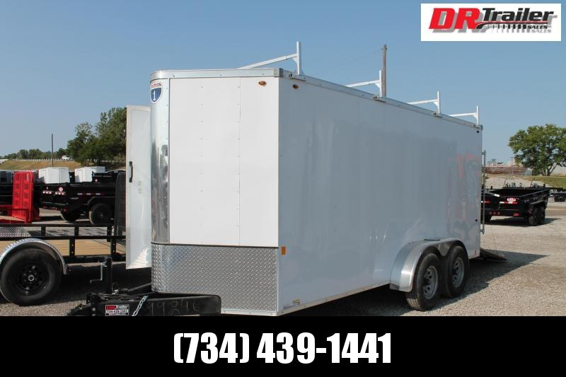 2021 Interstate 6' X 16' 10K Enclosed Cargo Trailer