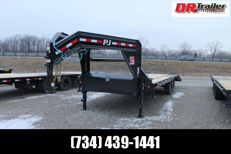 2021 PJ Trailers 25' LS 2R Flatbed Trailer