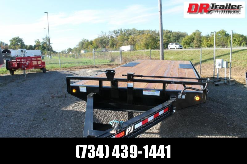 2021 PJ Trailers 22' DO SR 14K Flatbed Trailer