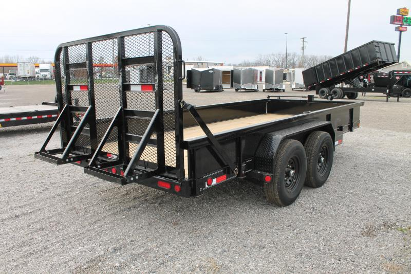 2021 PJ Trailers 16' CC RG Equipment Trailer