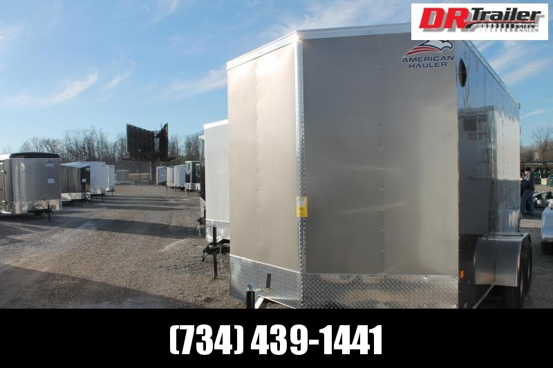 "2021 American Hauler 7' X 14' + 12"" RD Enclosed Cargo Trailer"