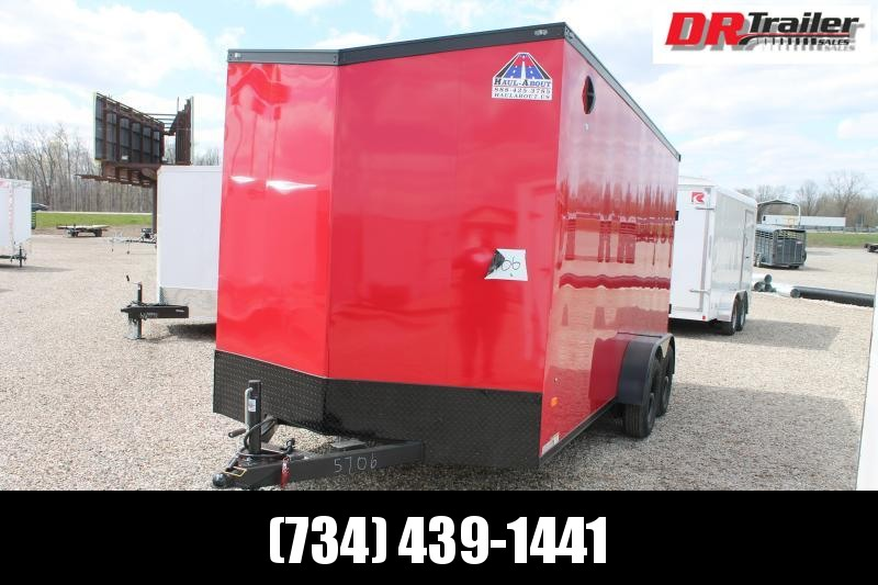 "2021 Haul-About 7' X 16' + 12"" RD ENCLOSED TRAILER Enclosed Cargo Trailer"
