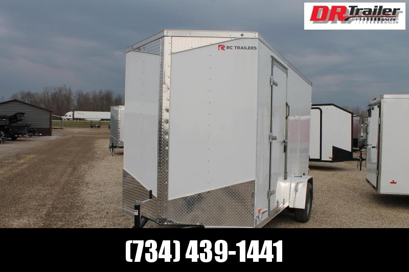 2021 RC Trailers 6' X 12' CONC Enclosed Cargo Trailer