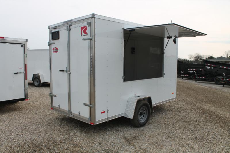 2021 RC Trailers 6' X 12' CONC Enclosed Cargo Trailer
