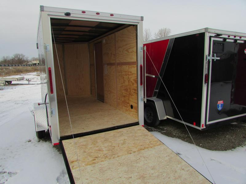 RC Trailers RWT 6X12 7' High Enclosed Cargo Trailer