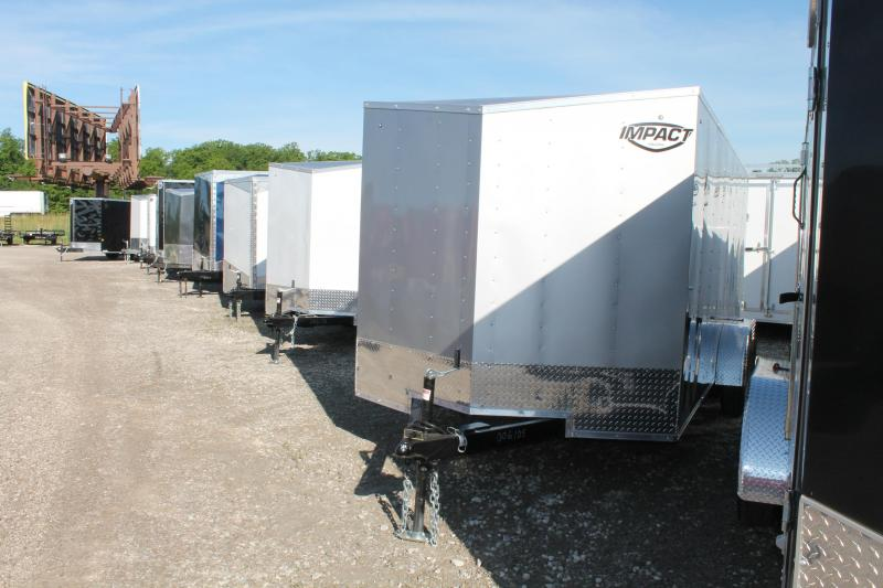 2021 Impact Trailers 7'X16' RD Enclosed Cargo Trailer