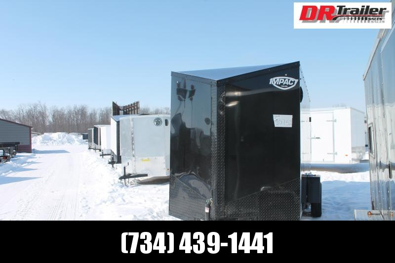 "2022 Impact Trailers 6' X 12' + 6"" RD Enclosed Cargo Trailer"