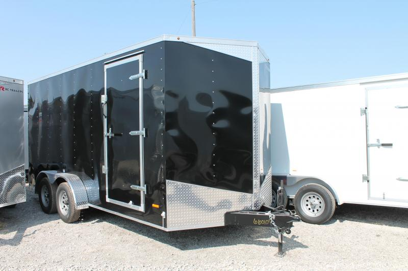 """2021 RC Trailers 7' X 16' + 12"""" RD Enclosed Cargo Trailer"""