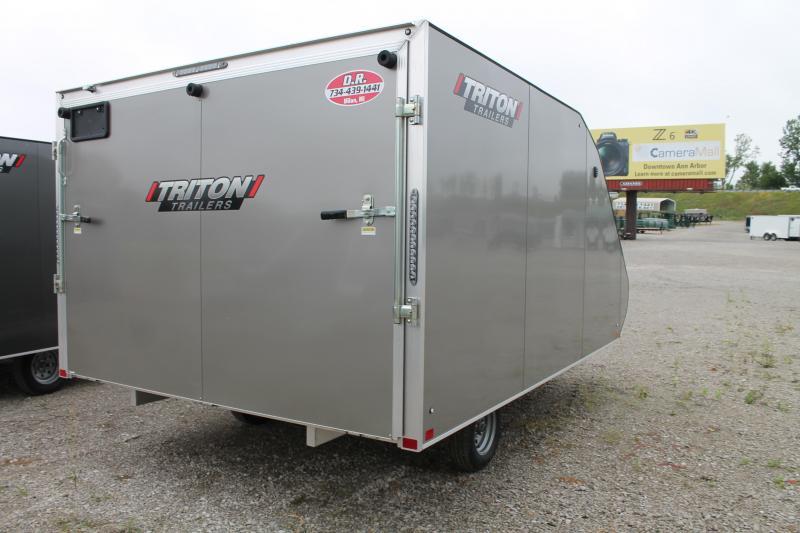 2020 Triton Trailers TC128 RD Snowmobile Trailer