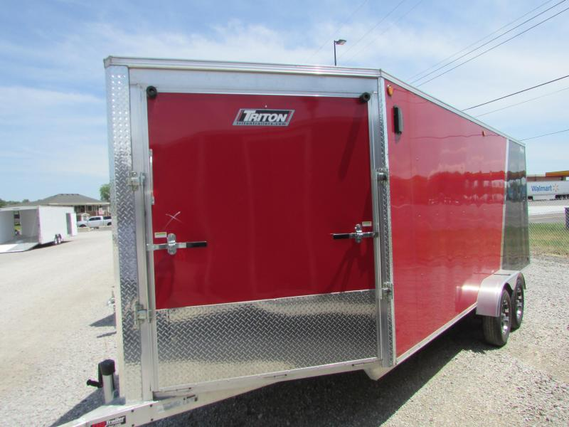 Triton 7x 23 3-place All Sport Trailer