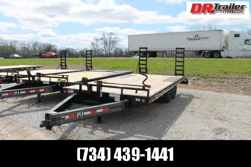 2021 PJ Trailers 20' F8 14K DECK OVER TRAILER Flatbed Trailer