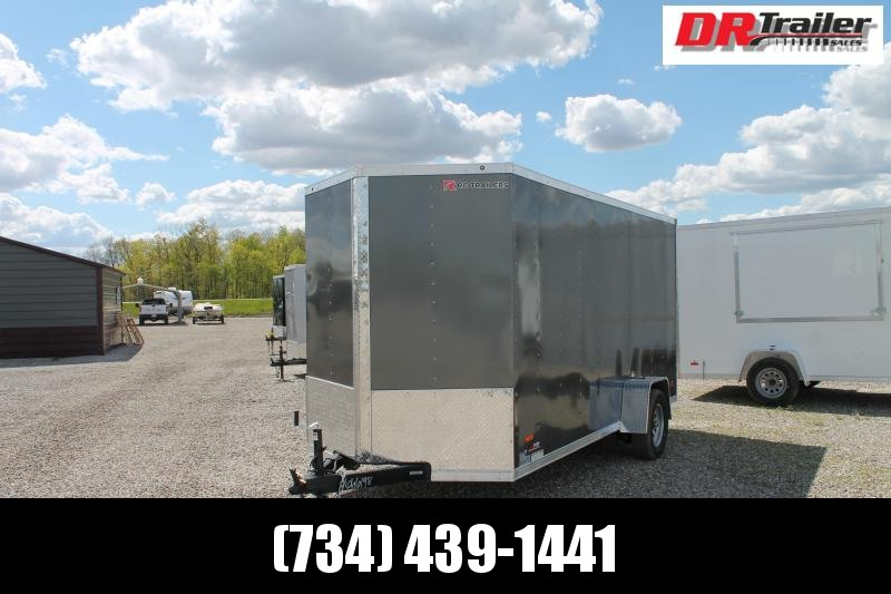 2021 RC Trailers 6' X 12' RDL Enclosed Cargo Trailer