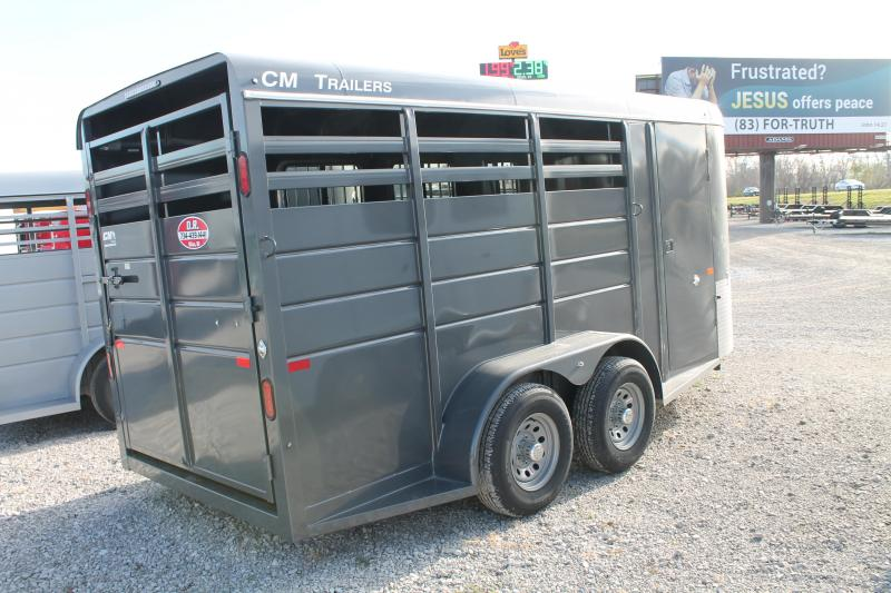 2021 CM 3 HORSE Livestock Trailer