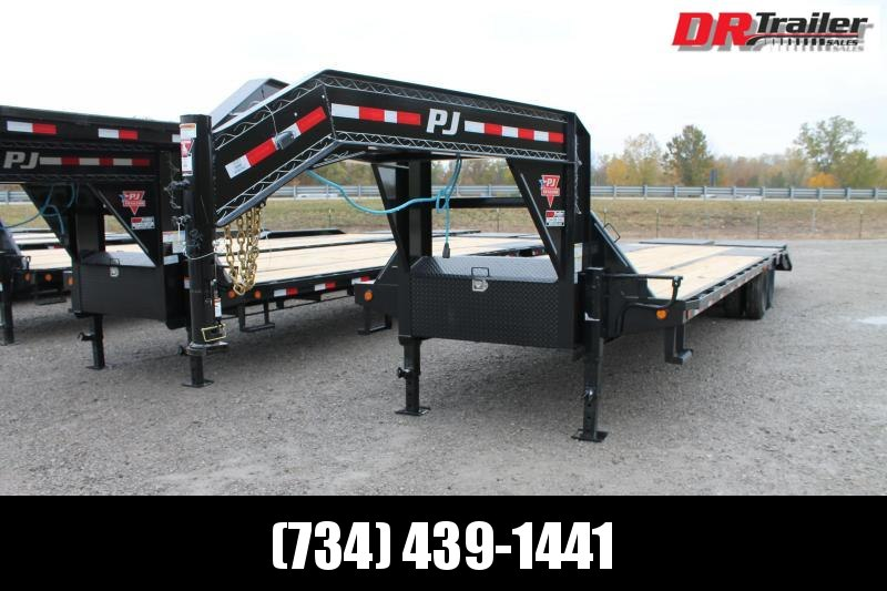 2021 PJ Trailers 32' MR 25K Flatbed Trailer