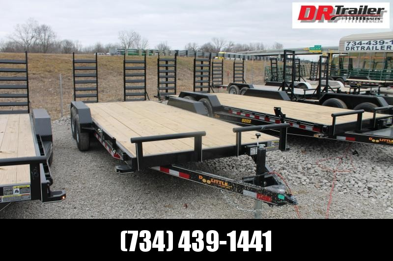 2021 DooLitttle Trailers 20' FR 10K Equipment Trailer