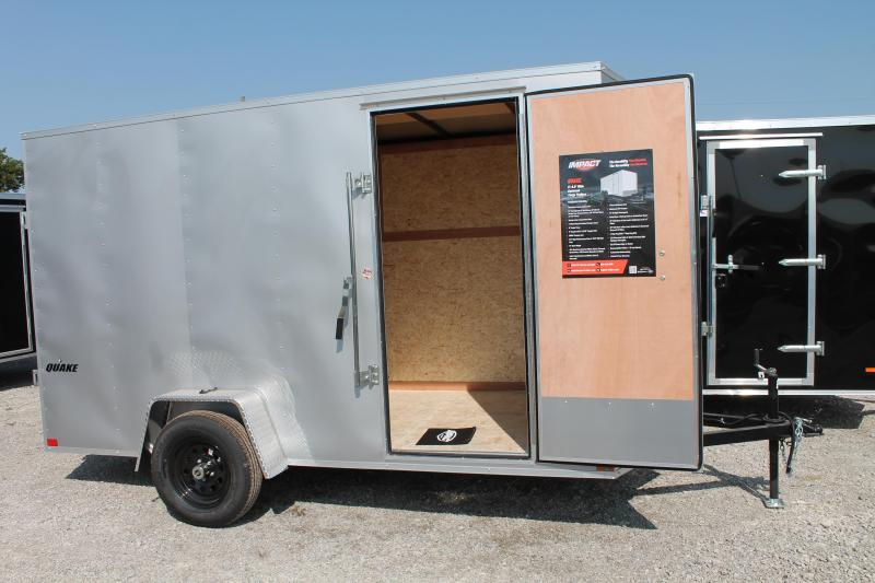 "2021 Impact Trailers 6' X 12' + 6"" RD Enclosed Cargo Trailer"