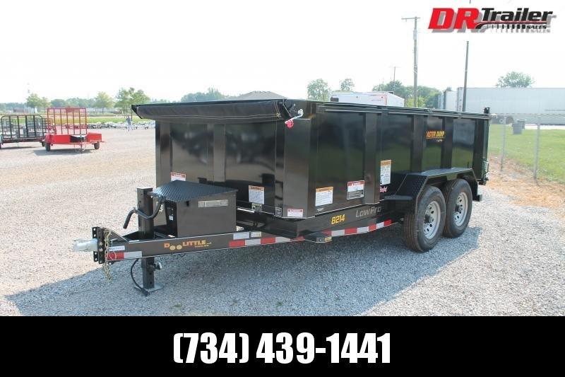 2021 DooLitttle Trailers 14' 14K GVWR HS DUMP TRAILER Dump Trailer