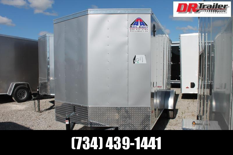 2021 Haul-About 6X12 RD Enclosed Cargo Trailer