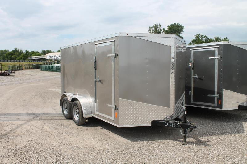 2020 RC Trailers 7' X 12' RD Enclosed Cargo Trailer