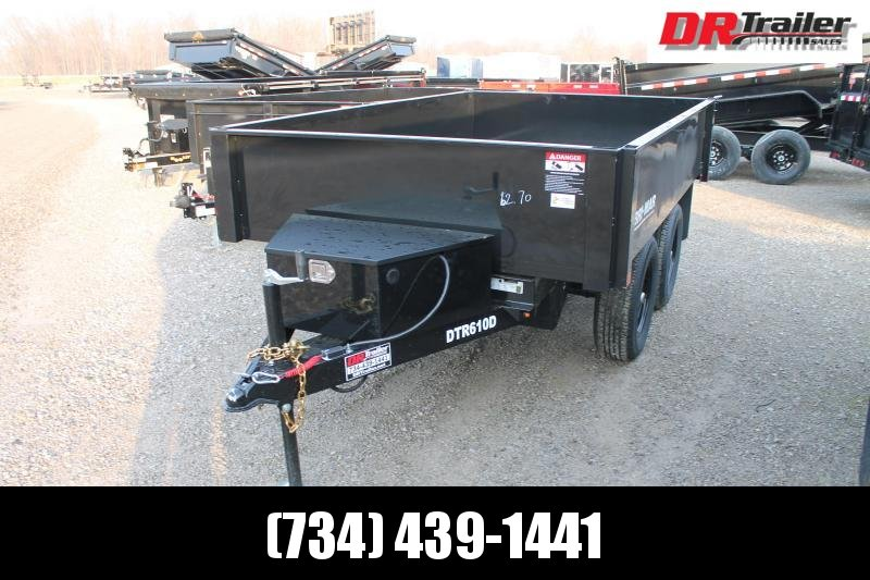 2021 Bri-Mar 6' X 10' 10K Dump Trailer
