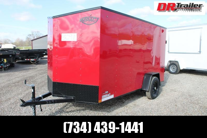 2022 Impact Trailers 6' X 12' RD TRAILER Enclosed Cargo Trailer