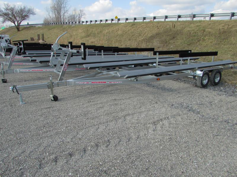 Wolverine Trailers All Pro 20 ft Bunk Style Pontoon Boat Trailer