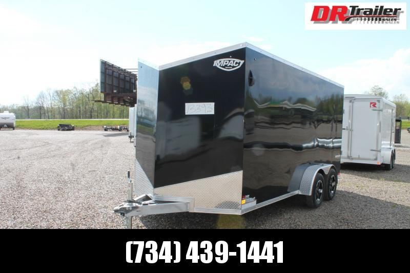 2022 Impact Trailers 7' X 16' ENCLOSED TRAILER Enclosed Cargo Trailer