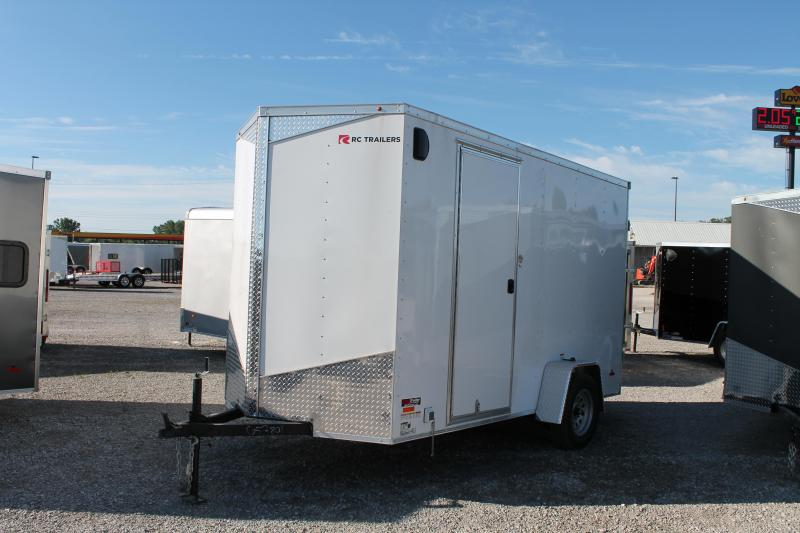 "2020 RC Trailers 6' X 12' + 12"" DD CONCESSION Enclosed Cargo Trailer"