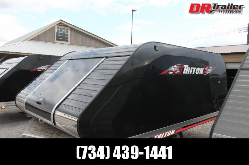 2019 Triton Trailers EILTE 12 VR Snowmobile Trailer