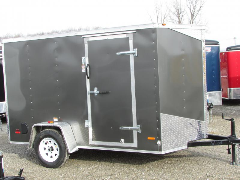RC Trailers 6 X 10 Ramp Enclosed Cargo Trailer