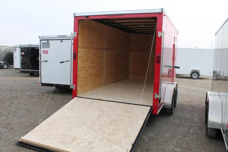 2021 Interstate 7' X 14' TA RD Enclosed Cargo Trailer