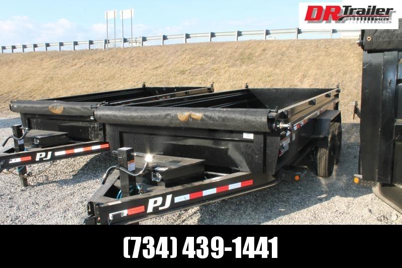 2021 PJ Trailers 16 DL 14K Dump Trailer