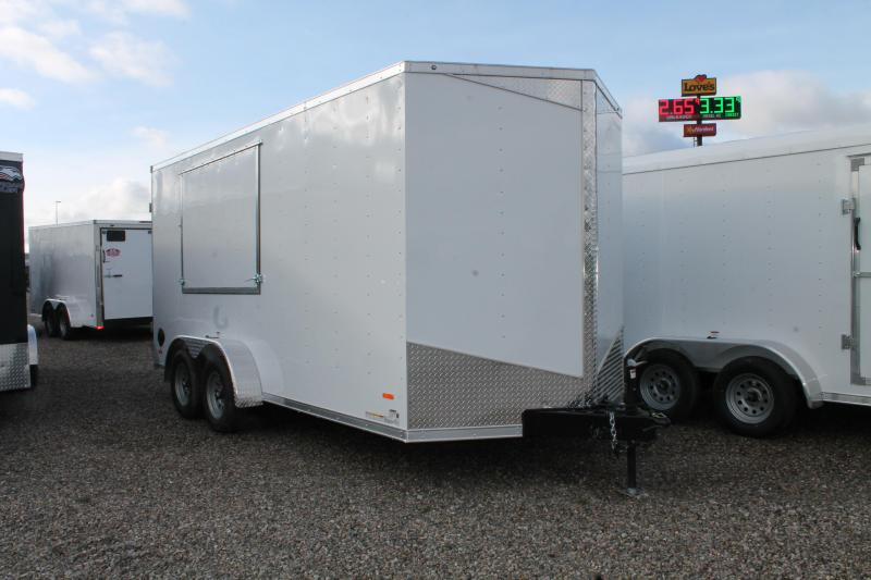 2021 RC Trailers 16' ENCLOSED CONCESSION TRAILER Enclosed Cargo Trailer