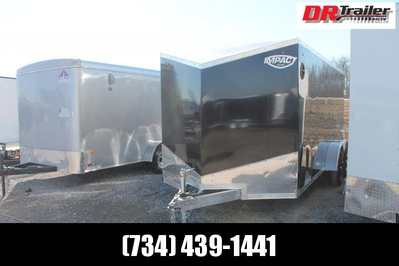 2022 Impact Trailers 7' X 16' RD AL Enclosed Cargo Trailer