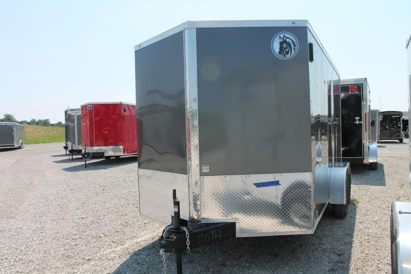 "2020 Darkhorse Cargo 7' X 15' + 6"" RD Enclosed Cargo Trailer"