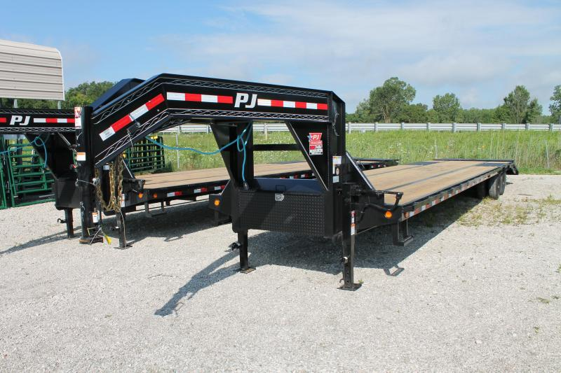 2021 PJ Trailers 40' 25K MR Flatbed Trailer