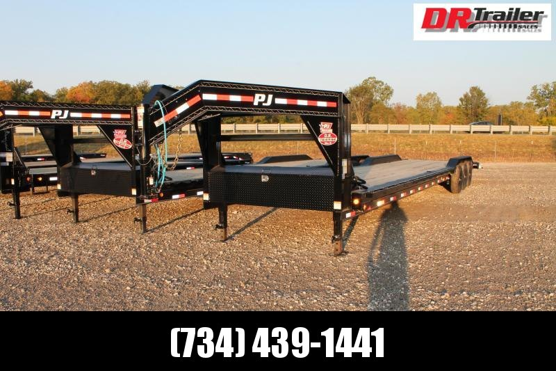 2021 PJ Trailers 40' B8 GN Flatbed Trailer