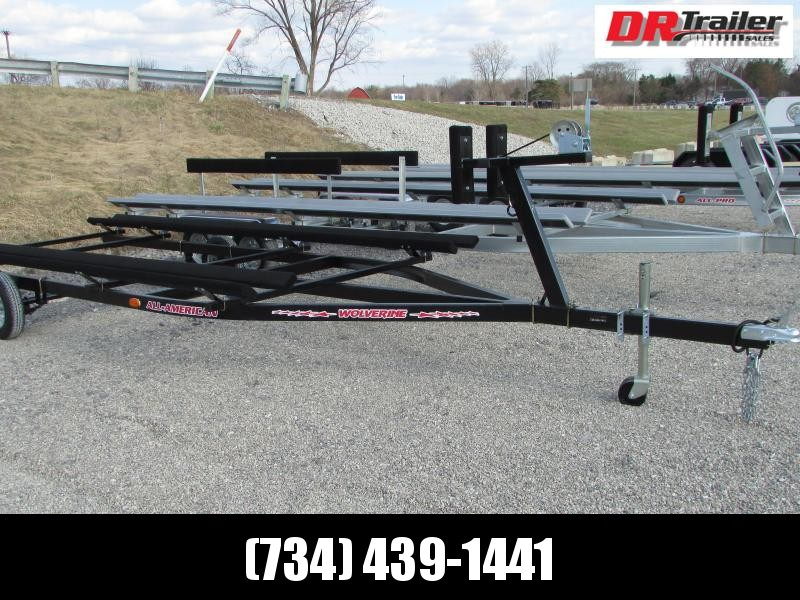 Wolverine Trailers 20 ft Bunk Style Pontoon Boat Trailer