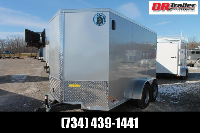 2021 Darkhorse Cargo 6' X 12' TA RD 10K Enclosed Cargo Trailer