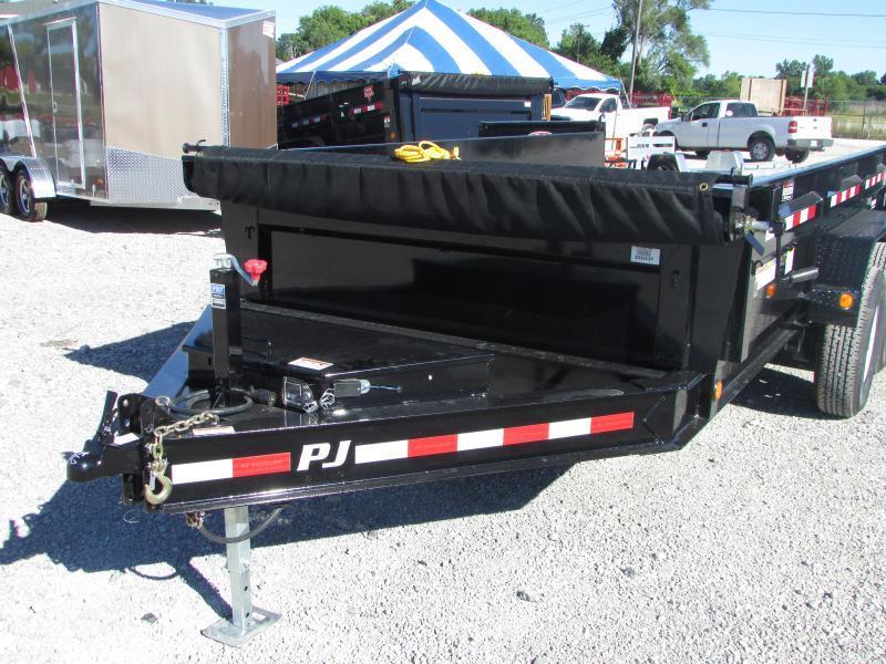 PJ Trailers 14 Dump Trailer 14k Dump Trailer