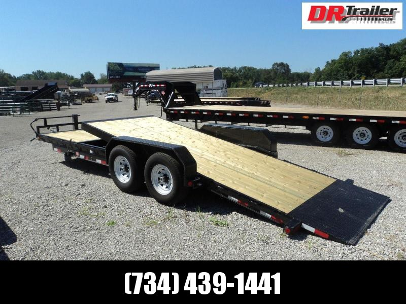 PJ Trailers 20 Equipment Tilt Flatbed Trailer