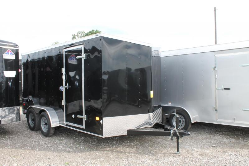 2021 American Hauler 7' X 14' RD Enclosed Cargo Trailer
